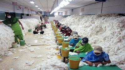 Cost analysis of spinning mills show raw materials, power important factors