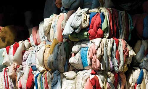 Chinas ban on textile scrap import hampers global recycling programs