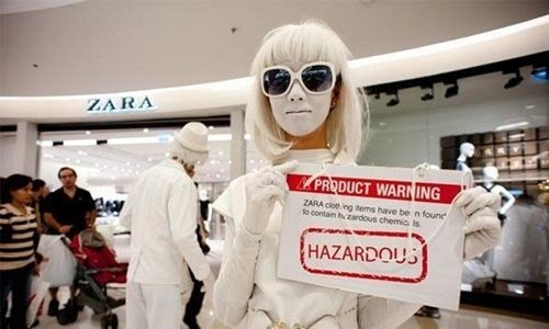 Fast fashion production processes damaging environment Study