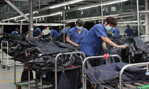 Making denim sustainably technology shows