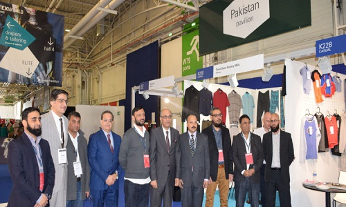 Pakistan marks its presence in 42nd edition of Texworld 2018 in Paris