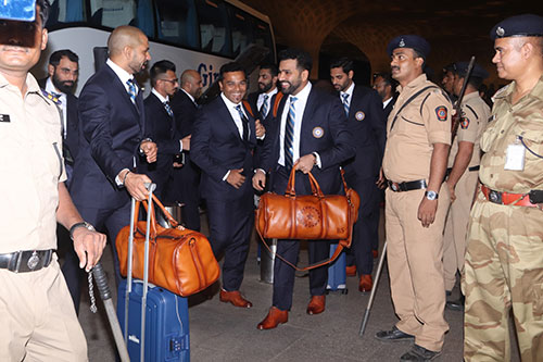 Brune partners Indian cricket team for World Cup 2019