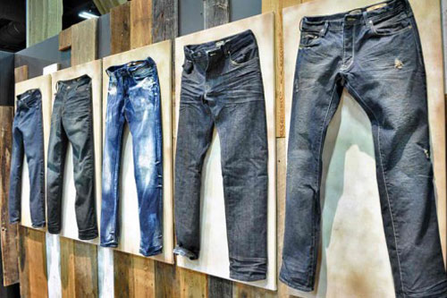 Expansion by major denim brands heat up the global jeans