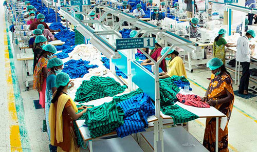 India Tiruppur exporters coping with high costs labor shortage falling orders