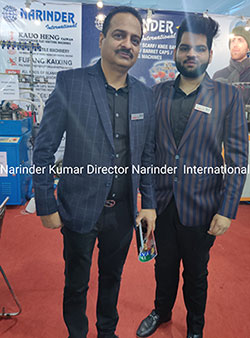 Narinder International launches two new machines at GMMSA