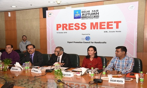 Overseas buyers from 110 countries to Visit 46TH edition of IHGF Delhi Fair Autumn 2018 Opening On October 14 EPCH 001