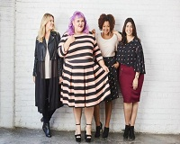Plus size fashion getting into mainstream in the US