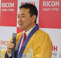 RICOH shares DMF concept workflow at ShanghaiTex 2019