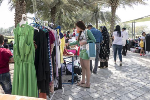 Secondhand clothes become fashionable in the