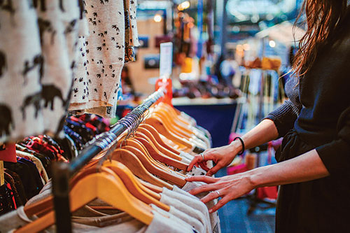 US secondhand fashion on the roll exponential growth expected