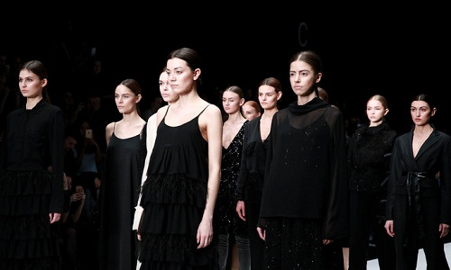 FIFTH DAY OF THE NEW SEASON OF MERCEDES BENZ FASHION WEEK RUSSIA