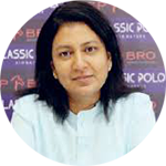 Usha Periasamy Director Brands Operations Classic Polo