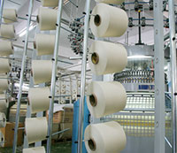 Shipments of spinning machinery rise while knitting machinery decline