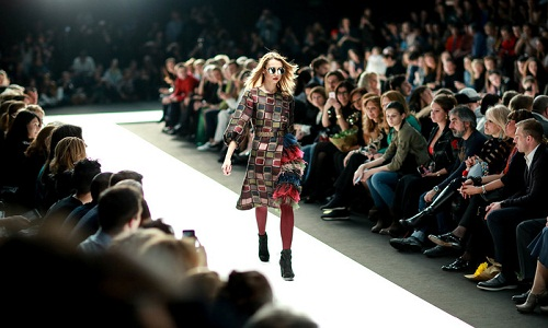 Third Day of The New Season of Mercedes Benz Fashion Week Russia Kicked off on 14 March