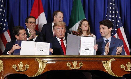The USMCA deal to rewrite North American